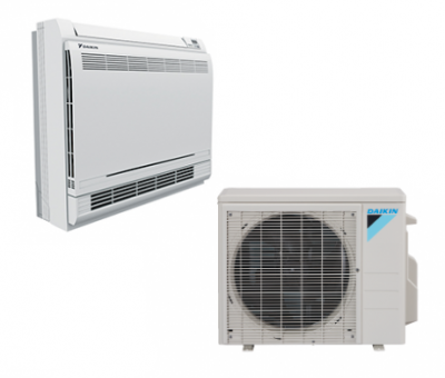 Daikin aurora floor mounted daikin ac aurora floor mounted units are simple to install and can be setup in various configurations on the floor or hanging low on a wall tyukafo