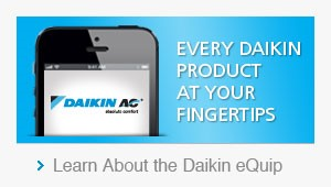 Every Daikin Product at Your Fingertips - Learn About the Daikin eQUiP