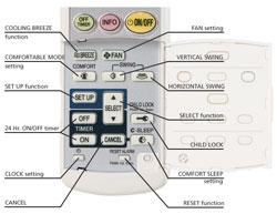 Remote Control | Daikin AC