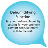 dehumidifying function